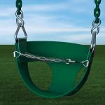 Toddler Half Bucket Swing